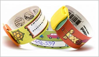 ID armbånd til børn