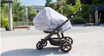 Myggenet til barnevogn