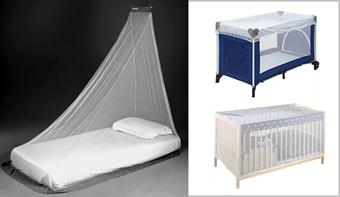 Myggenet til senge