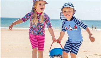 UV-trøjer og UV-shorts