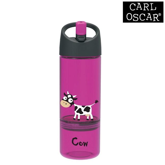 Drikkedunk til børn med snackkop Carl Oscar Purple Cow