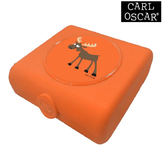 Madkasse til børn Carl Oscar Sandwich Box Orange Moose