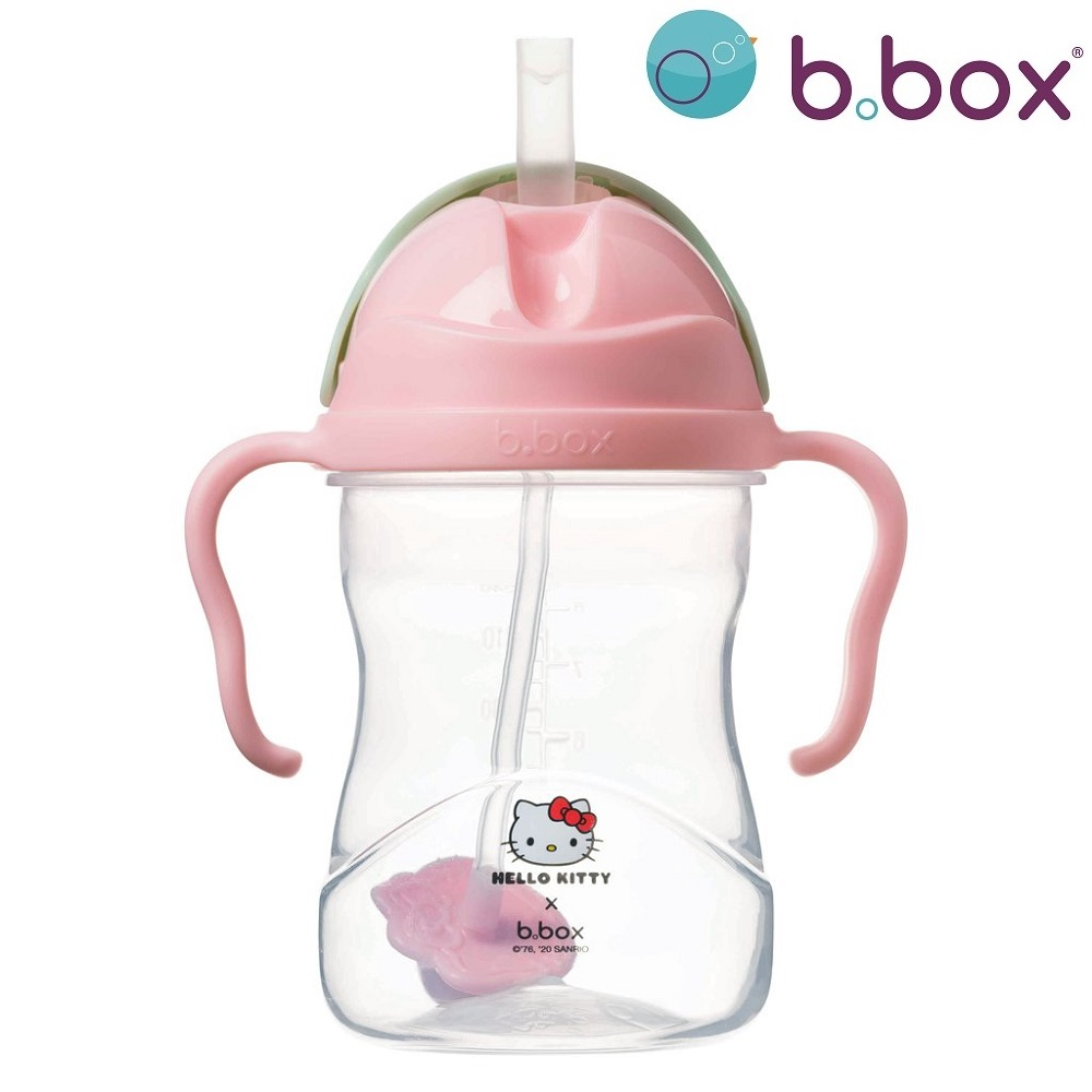 Drikkedunk til børn med sugerør B.box Sippy Cup Hello Kitty