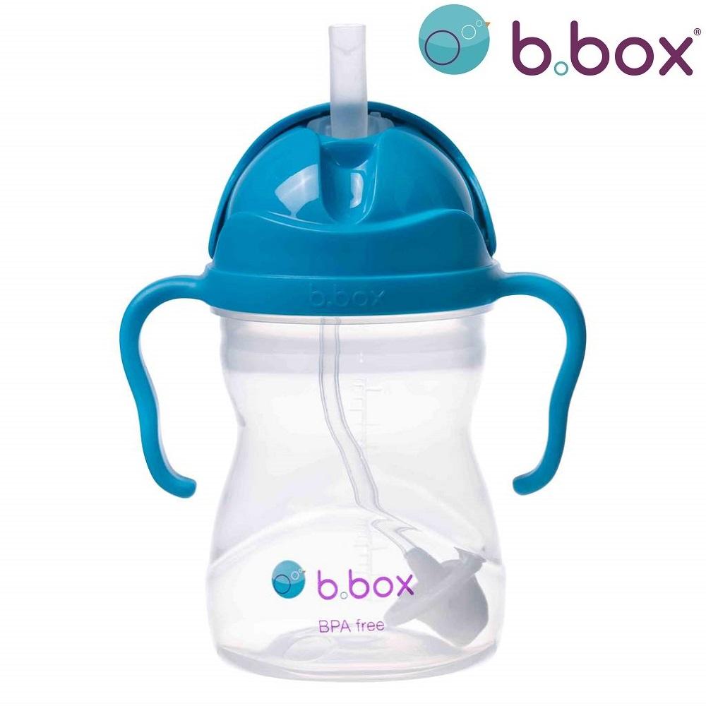 Drikkedunk til børn med sugerør Bbox Cobolt blå