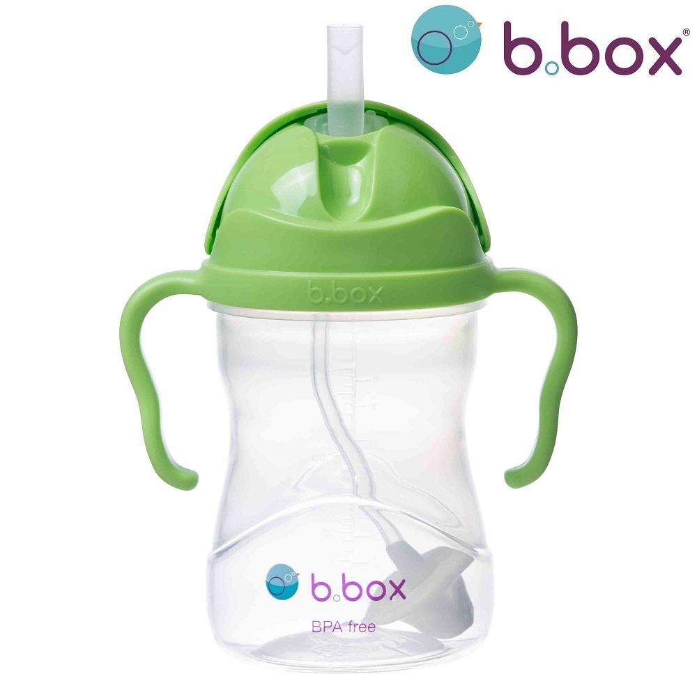 Drikkedunk til børn med sugerør B.box Sippy Cup Green Apple