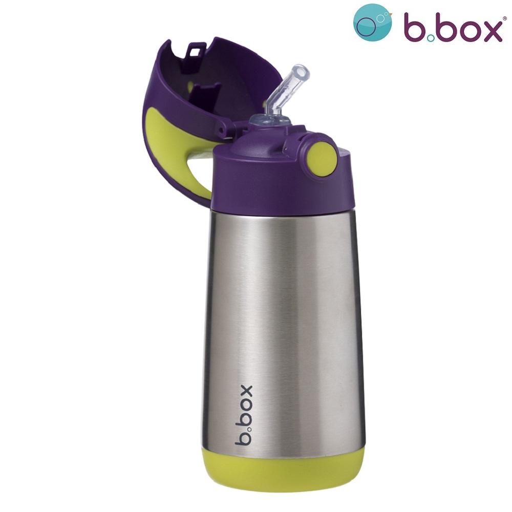 Termo drikkedunk med sugerør til børn B.box Passion Splash