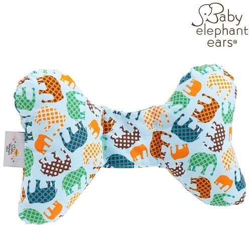 Nakkepude til baby Baby Elephant Ears Blue Elephants