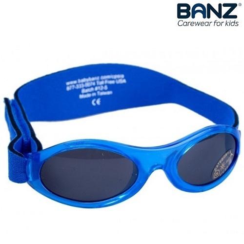 Solbriller til baby BabyBanz Blue