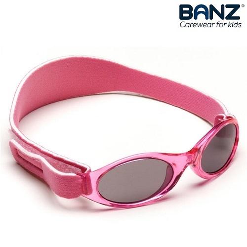 Solbriller til baby lyserød