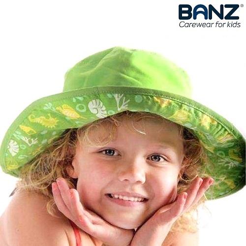 UV solhat til børn BabyBanz Green