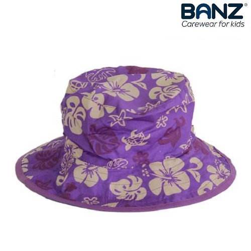 UV solhat til børn BabyBanz Purple