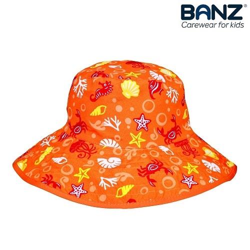 UV solhat til børn BabyBanz Orange Aquatic