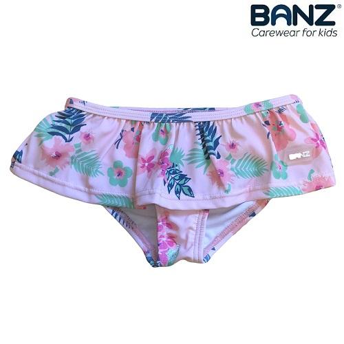 Badebukser til børn og baby Banz Pink Floral