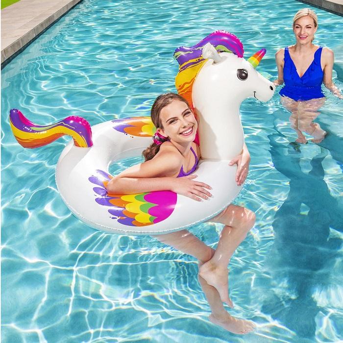 Oppustelig legetøj til pool Bestway enhjørning XL