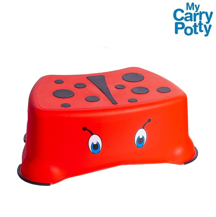 Skammel til børn My Carry Potty Mariehøne