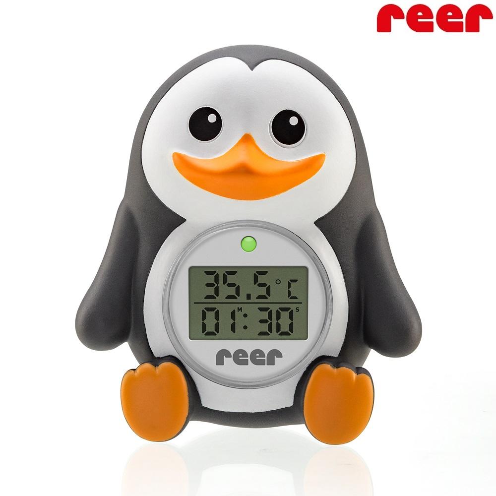 Badtermometer til børn og baby Reer My Happy Pingu