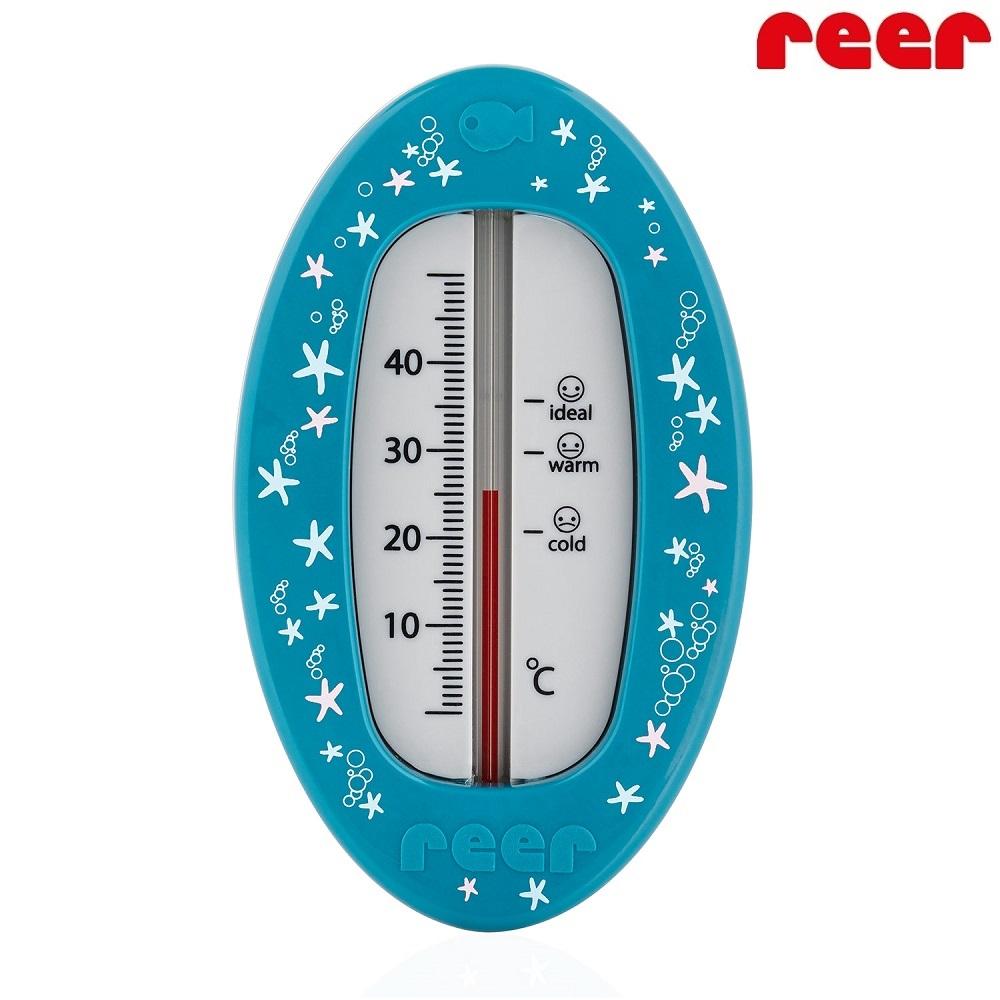 Badtermometer baby Reer Oval blå