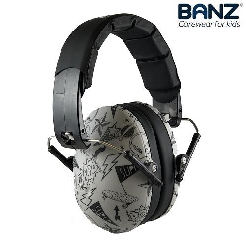 Høreværn til børn Banz Kids Graffiti