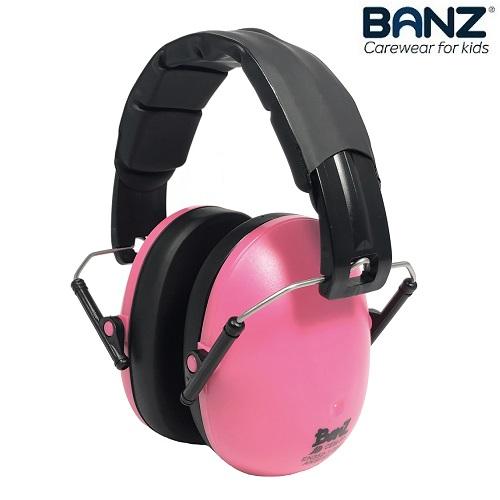 Høreværn til børn Banz Kids Lyserød
