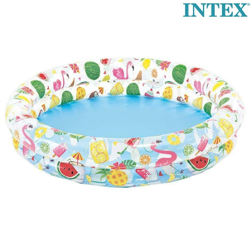 Oppustelig børnebassin Intex Fruit