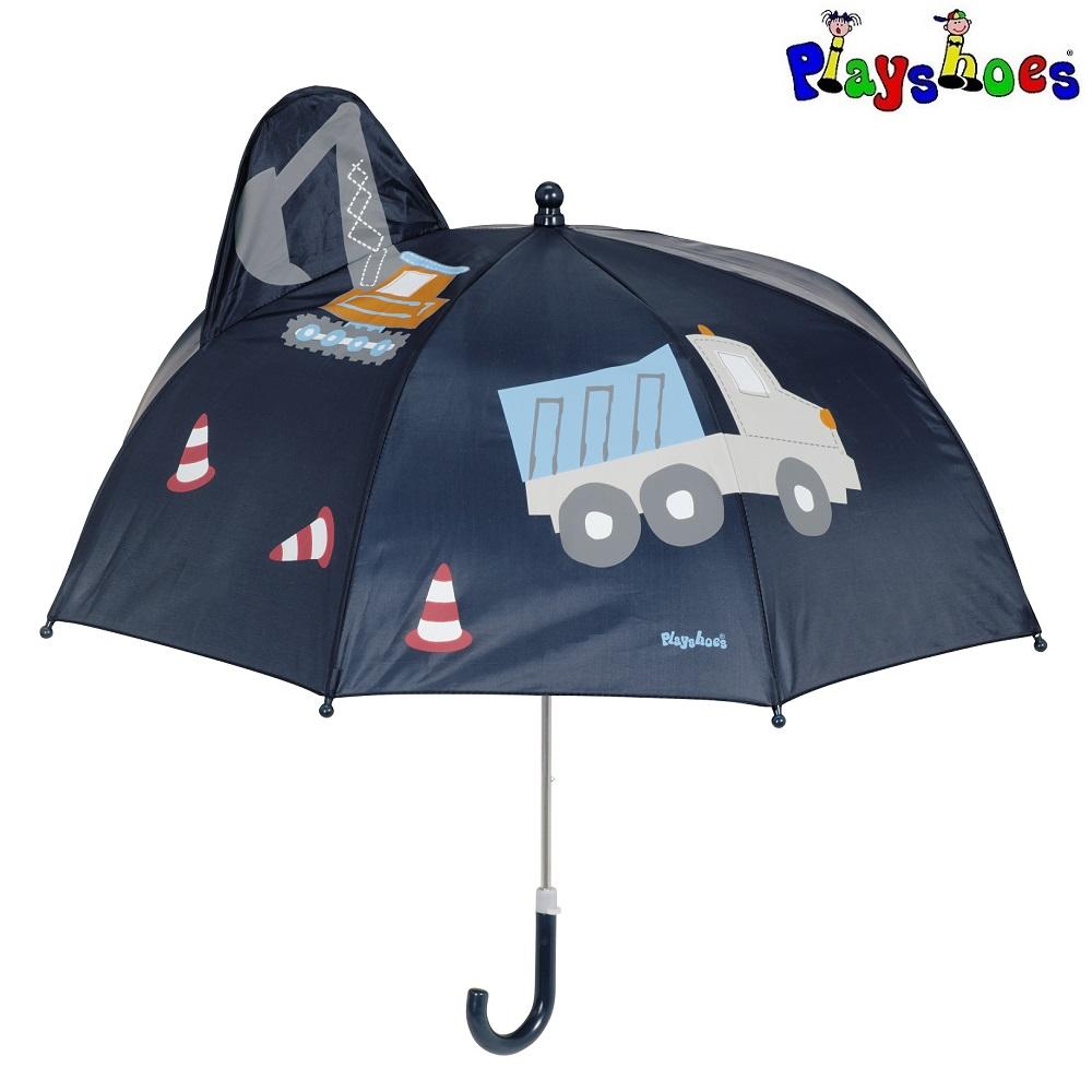 Paraply til børn Playshoes 3D Construction