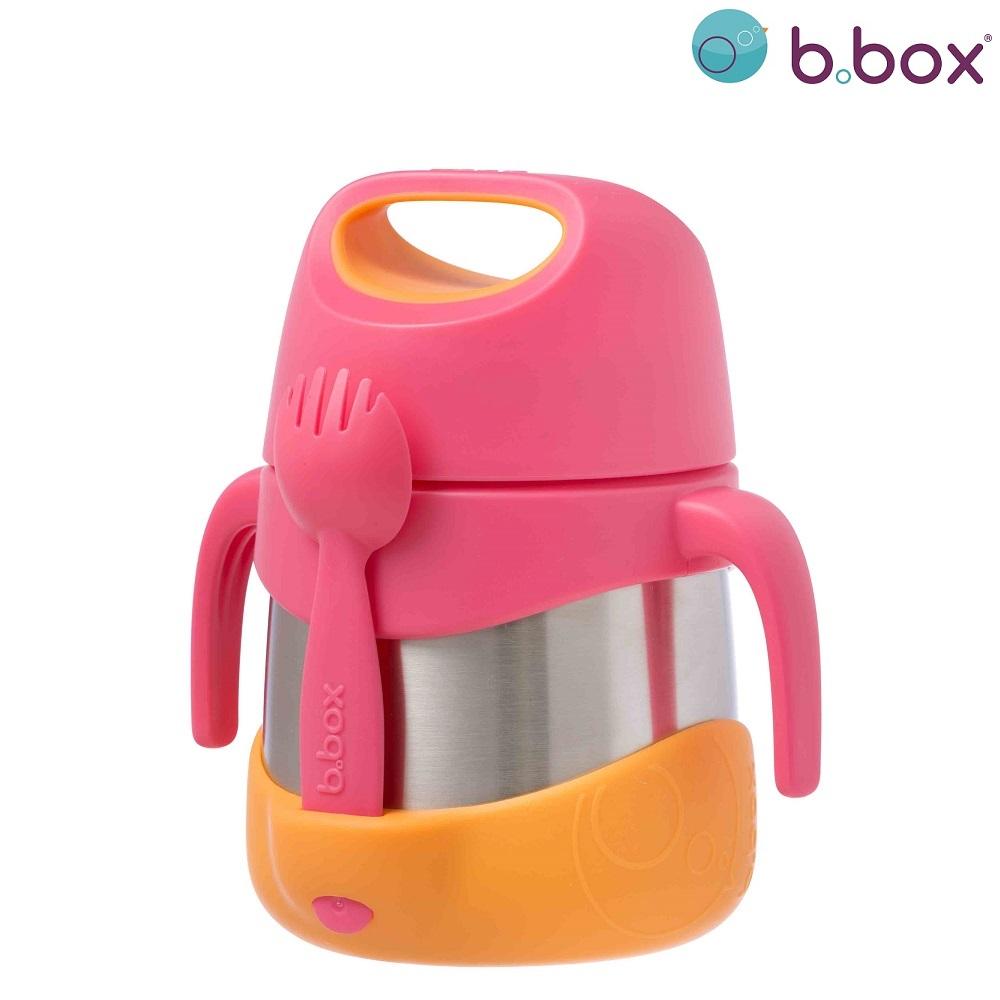 Termo madkasse med ske B.box Strawberry Shake