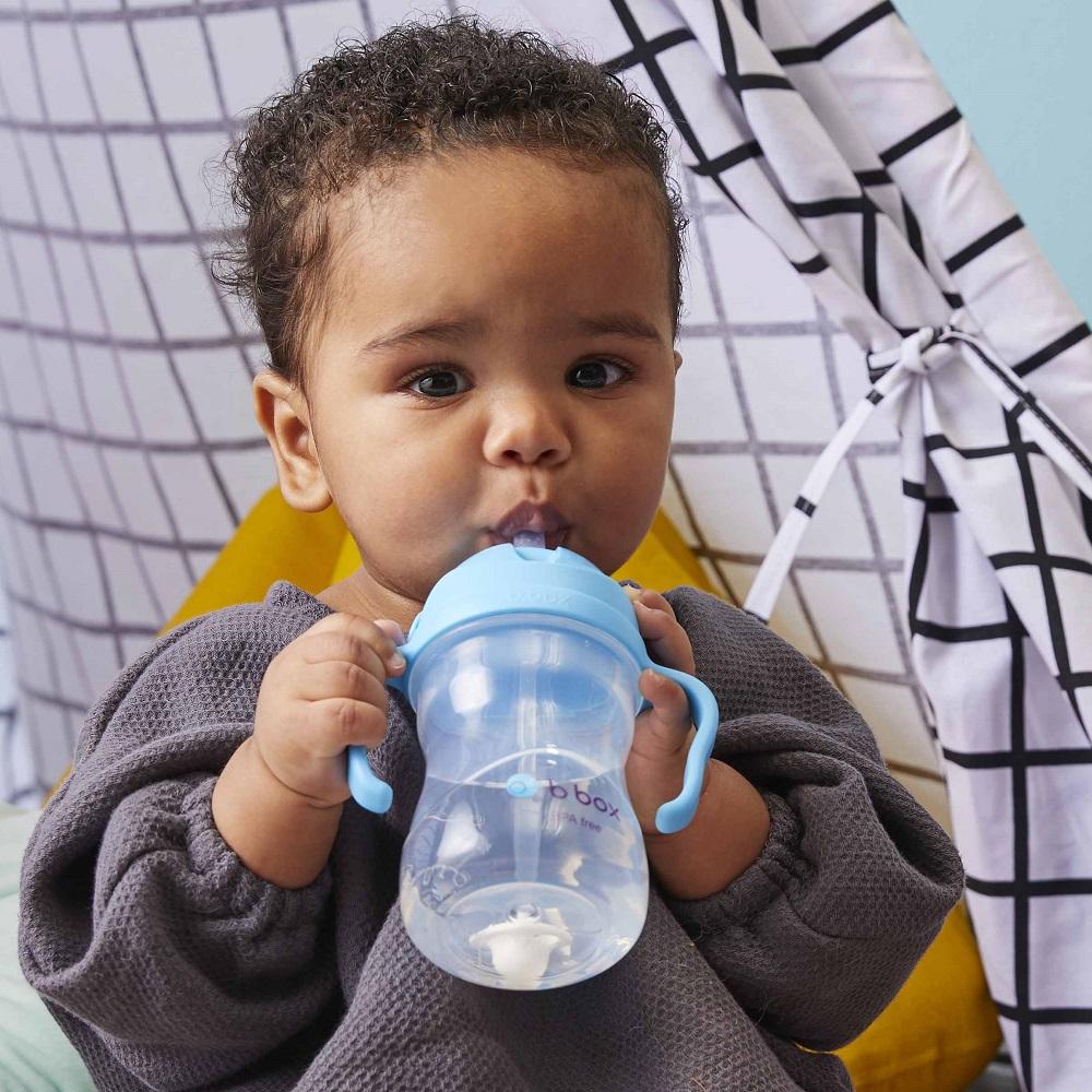 Drikkeflaske til børn B.box Sippy Cup Blueberry