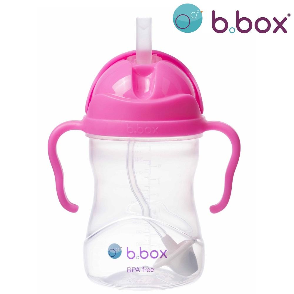 Drikkeflaske til børn B.box Sippy Cup Pink Pomegranate