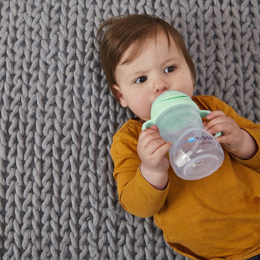 Drikkeflaske til børn B.box Sippy Cup Pistachio