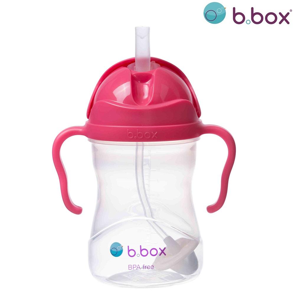 Drikkeflaske til børn b.box Sippy Cup Raspberry
