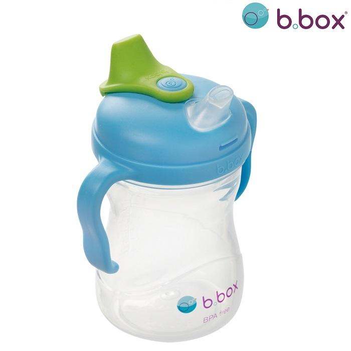 Drikkeflaske til børn B.box Spout Cup Ocean Blue