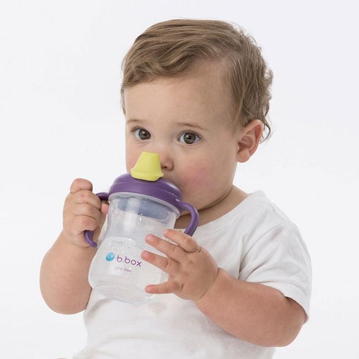 Drikkeflaske til børn B.box Spout Cup Grape