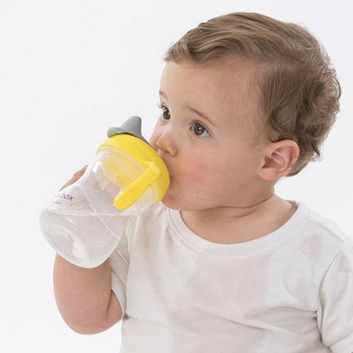 Drikkeflaske til børn B.box Spout Cup Lemon Sherbet