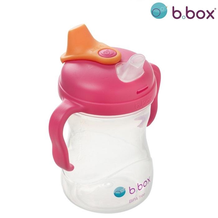 Drikkeflaske til børn B.box Spout Cup Strawberry Shake