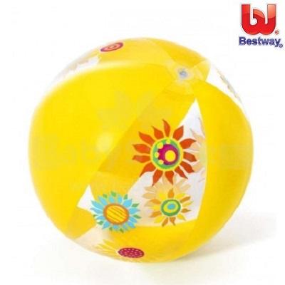 Badeboll Bestway Designer gul