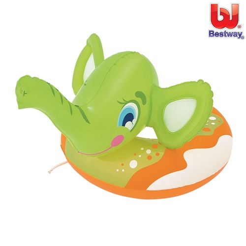 Oppusteligt badedyr Bestway Grøn Elefant