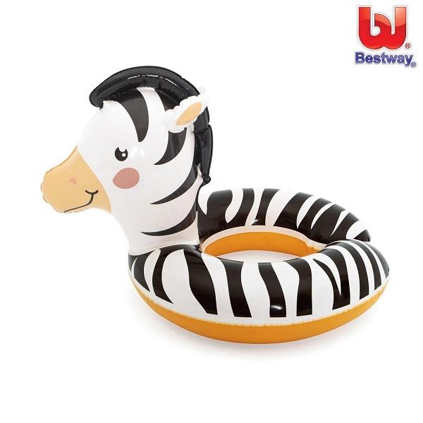Badering til børn Bestway Zebra sort og hvid
