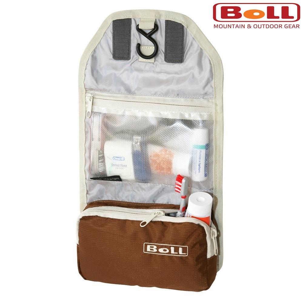 Toilettaske til børn Boll Toiletry Haxelnut brun