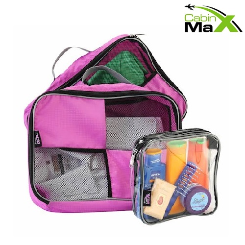 Cabin Max Packing Cubes pink