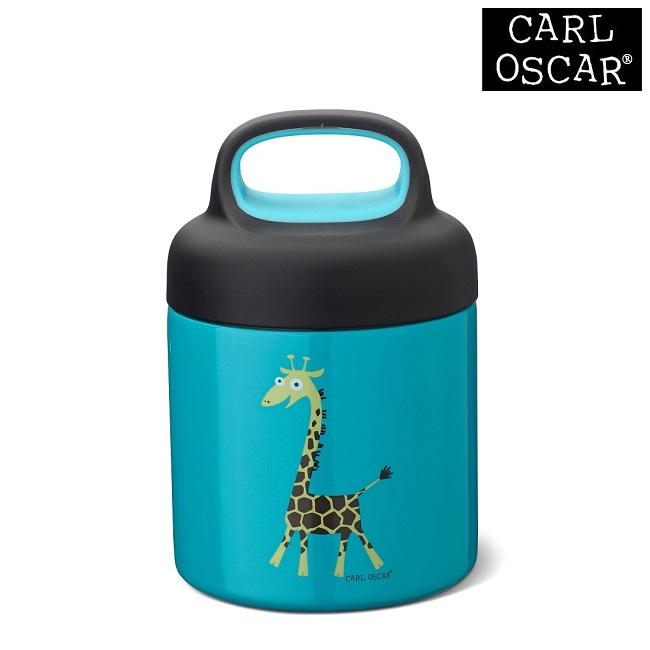 Termo madkasse til børn Carl Oscar LunchJar Blue Giraffe