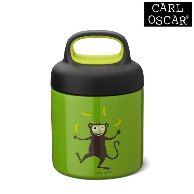 Termo madkasse til børn Carl Oscar LunchJar Green Monkey