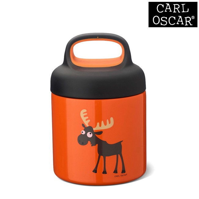 Termo madkasse til børn Carl Oscar LunchJar Orange Moose