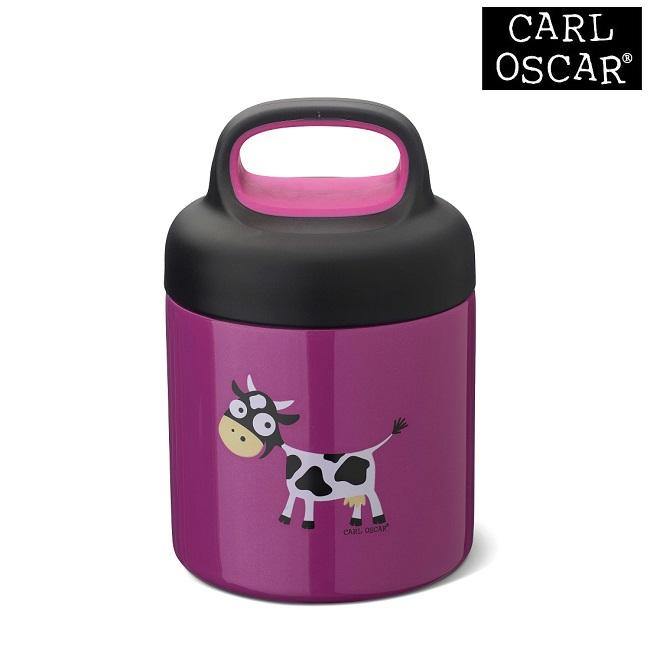 Termo madkasse til børn Carl Oscar LunchJar Purple Cow