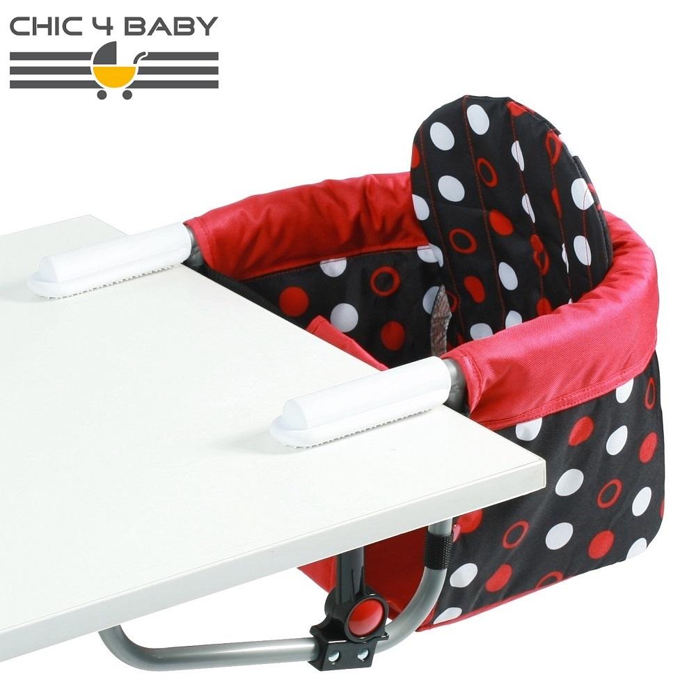 Rejsestol til børn Chic4Baby Dots