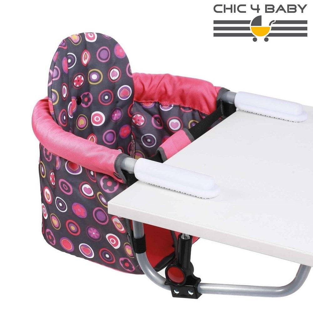 Rejsestol til børn Chic4Baby Galaxy Coral