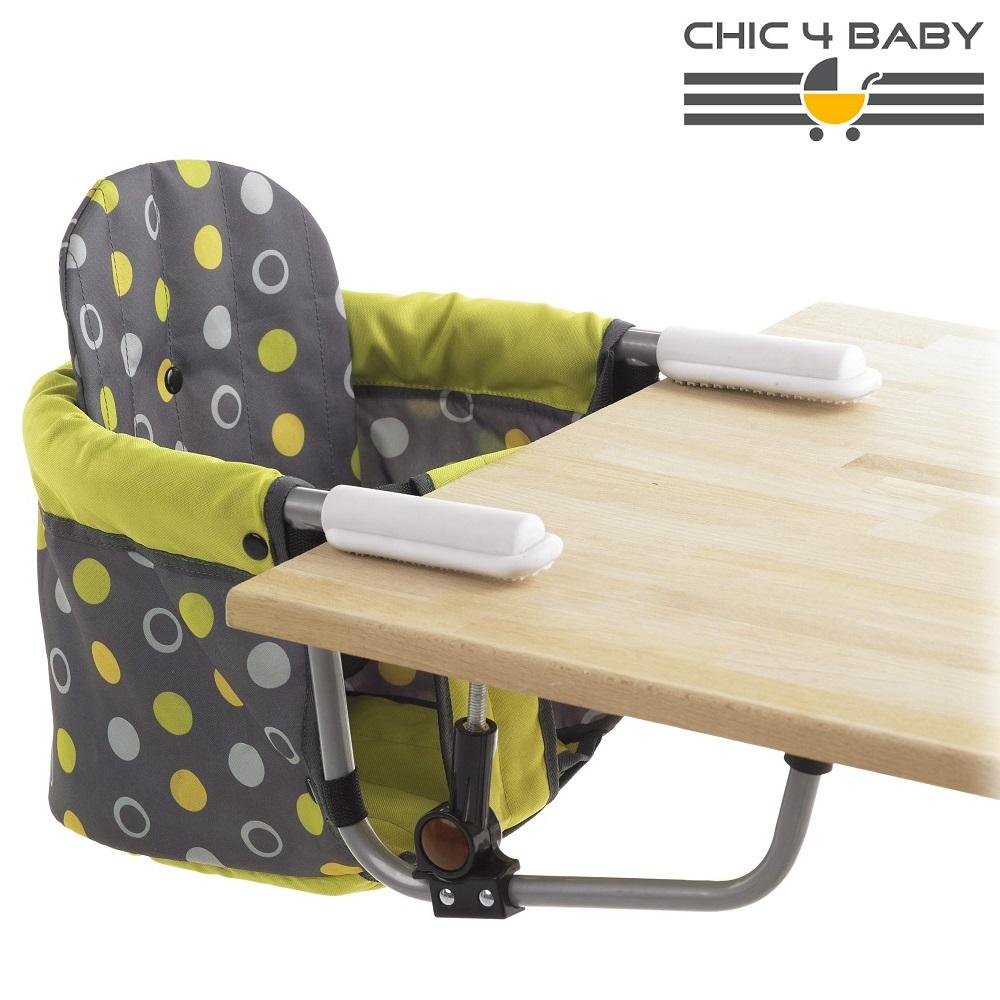 Rejsestol til børn Chic4Baby Lemontree