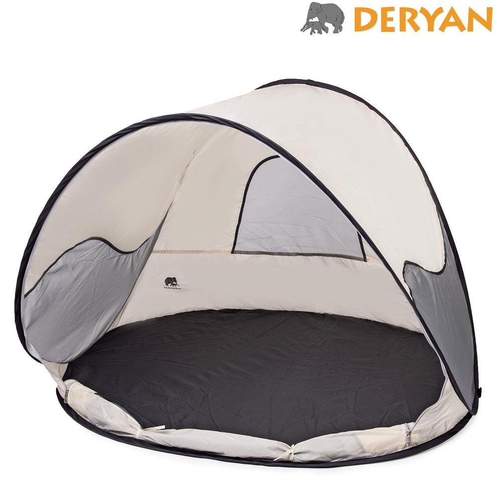 UV-telt og strandtelt Deryan Cream
