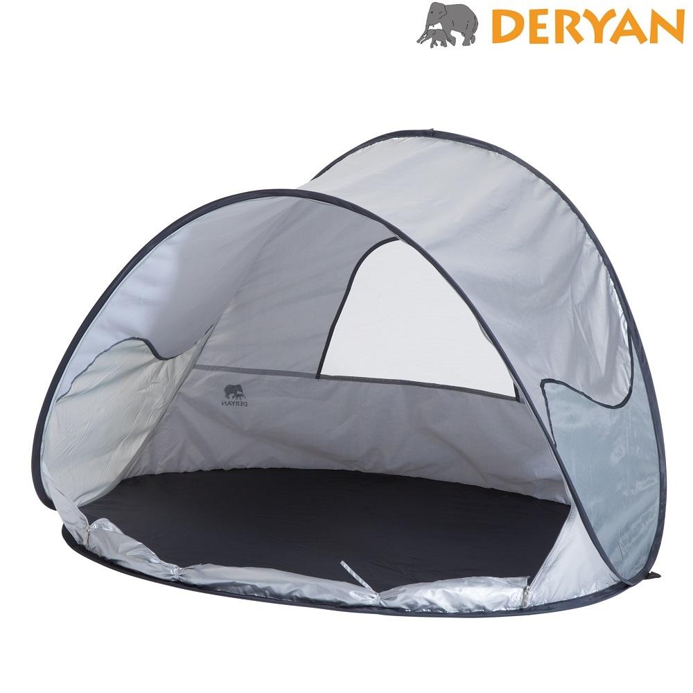 UV-telt og strandtelt Deryan Sølv