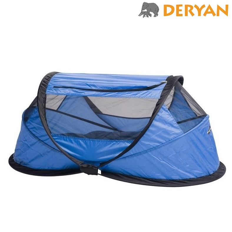Rejseseng Deryan Baby Box blå