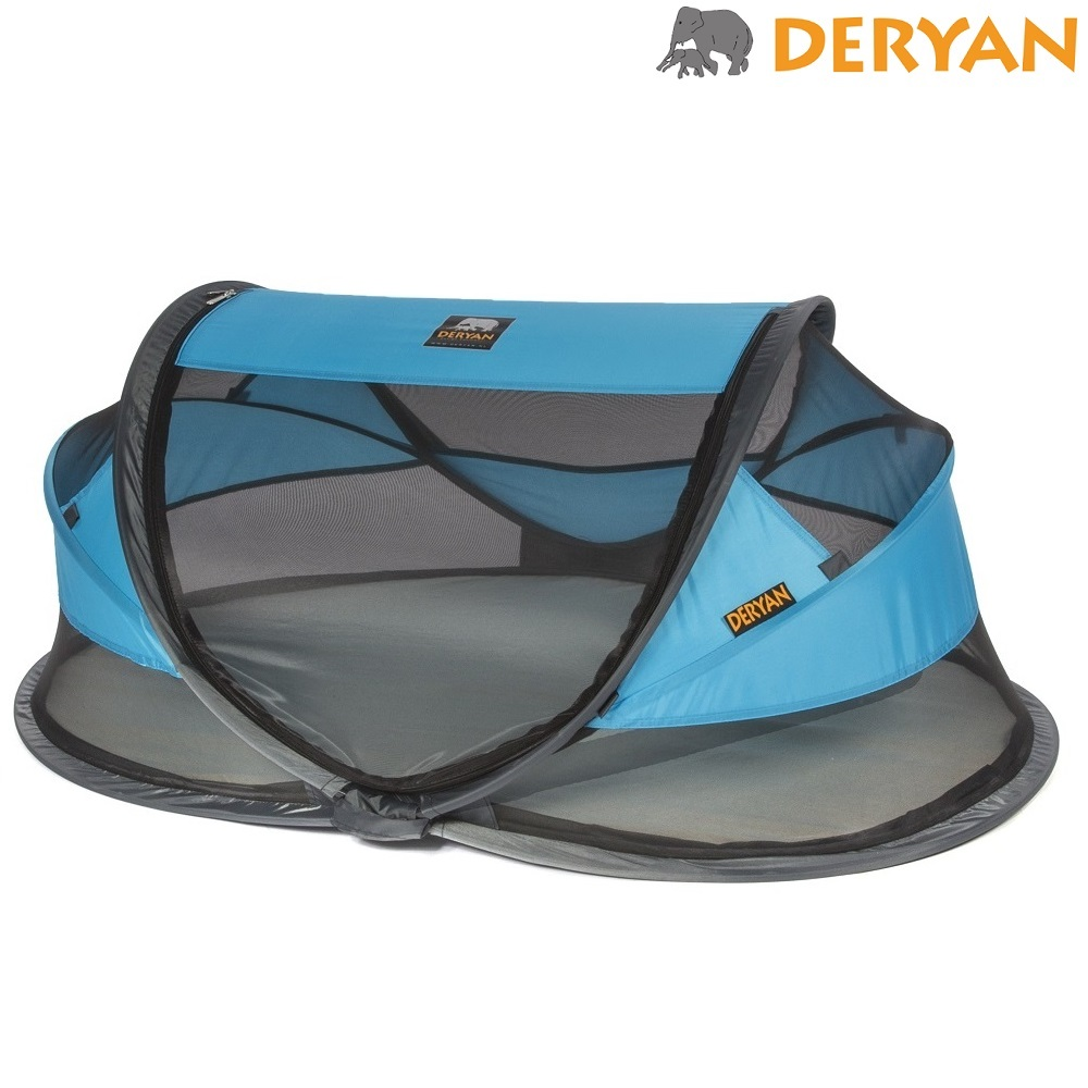 Rejseseng Deryan Baby Luxe blå